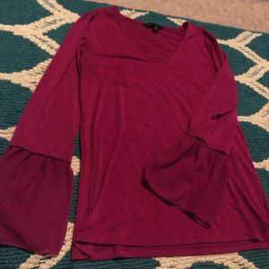 BANANA REPUBLIC long sleeve soft blouse